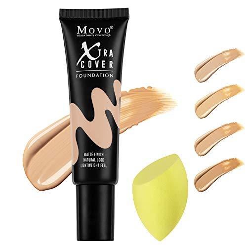 Bases De Maquillaje Mates marca Movo