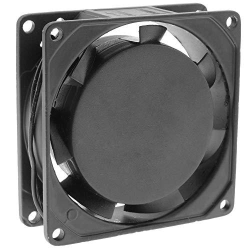 BeMatik - Ventilador de chasis 80x80x25 mm de 220 VAC para caja de ordenador