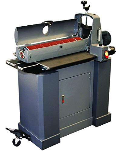SUPERMAX TOOLS Drum Sander with Closed Mobile Base Stand. Sands 25