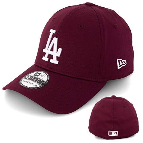 New Era 39THIRTY - Cappellino da baseball da uomo in edizione limitata MLB Maro/Bianco L/XL