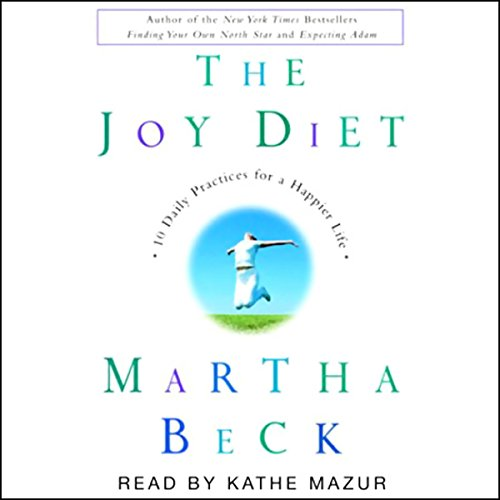 The Joy Diet audiobook cover art