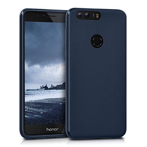kwmobile Hülle kompatibel mit Honor 8/8 Premium - Hülle Handyhülle - Handy Hülle in Dunkelblau