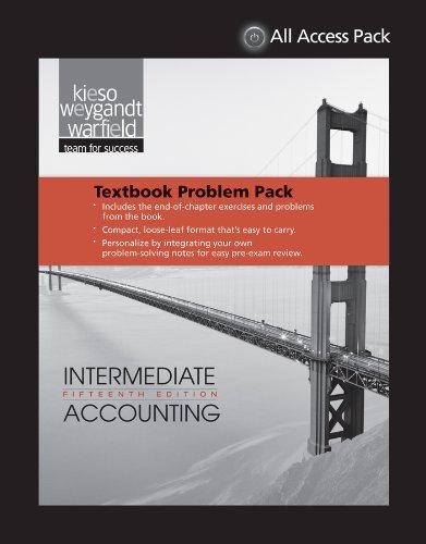 EOC-Only Kieso Intermediate Accounting