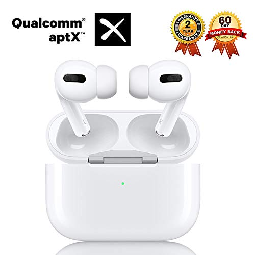 Wireless Earbuds Bluetooth 5.0 Headsets Ear Buds Headphones with Mic Smart Noise Reduction (Fast Charging Case) Pop-Up Auto Pairing, for iPhone/Android/Samsung/Airpods Pro in-Ear Earbuds