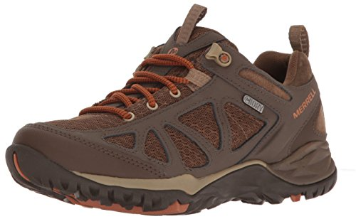 Merrell Women's Siren Sport Q2 Waterproof Hiking Shoe, Slate Black, 8 M US