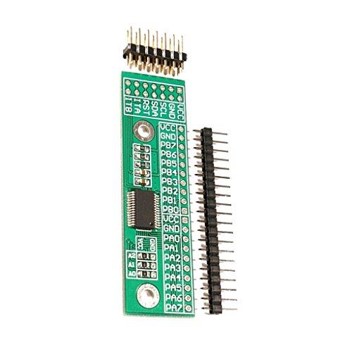 SDENSHI MCP23017 Interfaz I2C del Módulo Expansor de Puerto IO de 16 bits a GIPO para