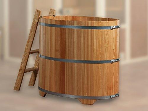Weka Sauna Tauchbottich aus Lärchenholz