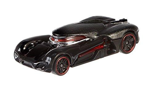 Mattel Hot Wheels CGW50 vehículo de Juguete - Vehículos de Juguete (Multicolor, Coche, Star Wars, Kylo REN, 3 año(s), 1:64)