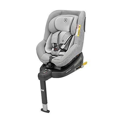 Bébé Confort Beryl Seggiolino Auto Isofix, 0-25 Kg, per Bambini fino a 7 Anni, Reclinabile 5 Posizioni, con Riduttore per Neonati, Nomad Grey