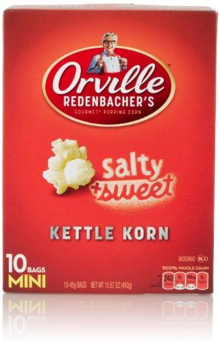 Best Price! Orville Redenbacher Kettle Korn Popcorn Mini Bags, 10 Count