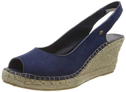 Fred de la Bretoniere Damen FRS0176 Slingback Sandalen, Blau (Blue 8124), 41 EU