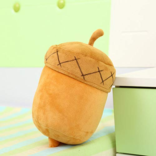 Peluches, Cute Anime Acorn Dolls Soft Plush Pillow, Regalo para niños 25cm