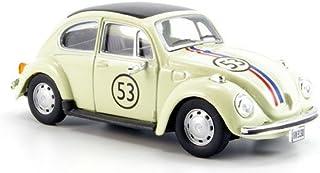 VW Käfer, No.53, beige, Modellauto, Fertigmodell, Cararama 1:43