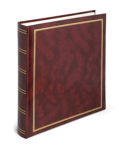 Lebez Album Foto, Cartoncino, Vinyl, Rosso, 30 x 33 cm