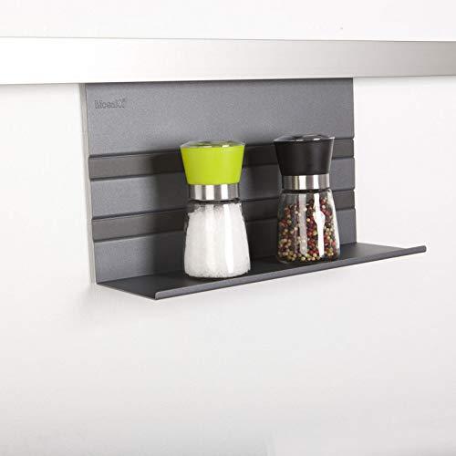 Sotech SO-TECH® Linero MosaiQ Universalablage 200 Graphitschwarz für Küchenutensilien