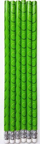 L LIFETIME Value Pack Building Blocks Pencils, 24 Piece Set, Popular Green Brick Design