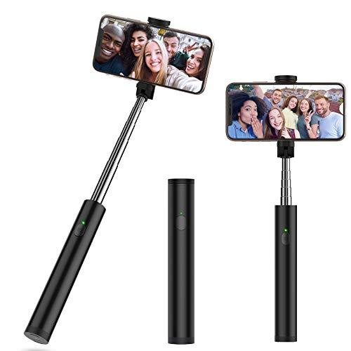"""Yoozon Bluetooth Selfiestick mit integrierter Fernauslöser,erweiterter Selfie Stick kabellos Selfie Stange Stab tragbar Monopod kompakt für alle 3.5-6.5\"""" iPhone Android Smartphones"""