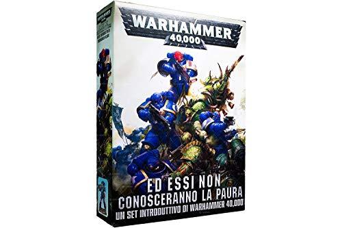 GAMES WORKSHOP : Warhammer 40K - Ed Essi Non Conosceranno La Paura - Set Introduttivo