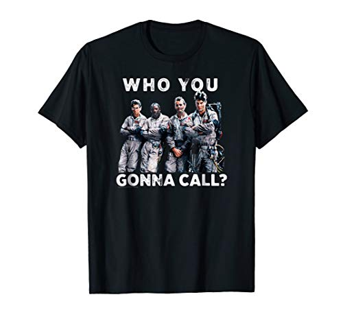 Ghostbusters Who You Gonna Call? T-shirt for Men, Women, 5 Colors