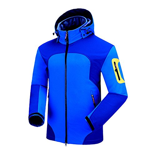 Uglyfrog Bike Wear Softshelljacken Herren Radsport Fleece Camping & Outdoor Bekleidung Full Zip Windstopper Autumn/Winter Style B1502
