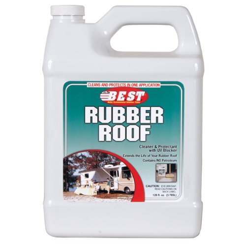 ProPack 55128 RV Trailer Camper Cleaners Rubber Roof Protectant 128 Oz.