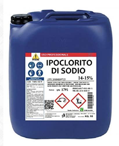 IPOCLORITO DI SODIO PURO 14/15% 10 KG