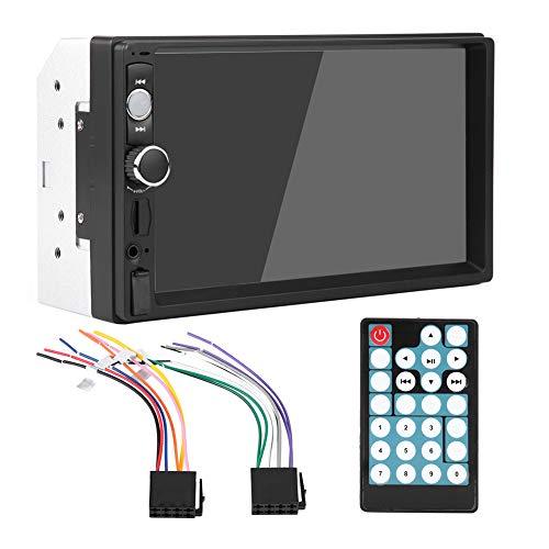 Lazmin112 Lettore multimediale per Auto Bluetooth HD, autoradio FM da 5 Pollici con autoradio, Lettore FM, Radio FM5 con Telecomando