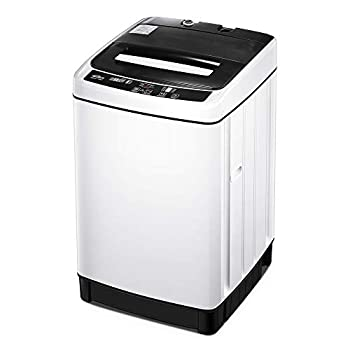 Kealive Portable Washing Machine 1.54 Cu.Ft Compact Washer and Dryer Combo 11 lbs Capacity Fully Automatic Laundry Washer with Drain Pump and Long Hose for Apartments,Home Dorms