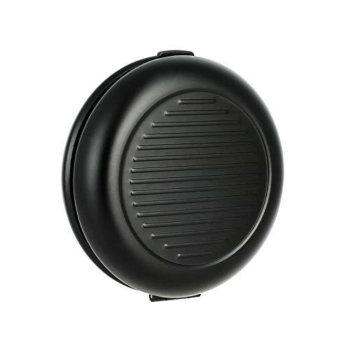 Ögon Smart Wallets - Monedero de Metal Cartera - hasta 20 Euros de Monedas - Aluminio anodizado (Negro)