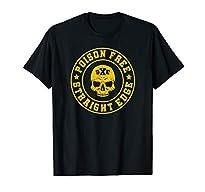 Shirt Str8 Edge Motiv Posion Free - Straight Edge in versch. Größen