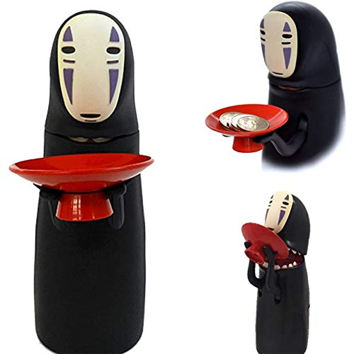 OVANUS Spirited Away No Face Man Automatic Coin Piggy Bank,Studio