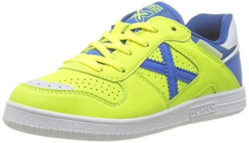 Munich Continental Kid V2 00, Zapatillas de Deporte para Niños, Verde (Verde/Azul 000), 37 EU