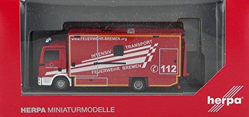 Herpa 092456 MAN TGL Koffer-LKW Intensivtransport
