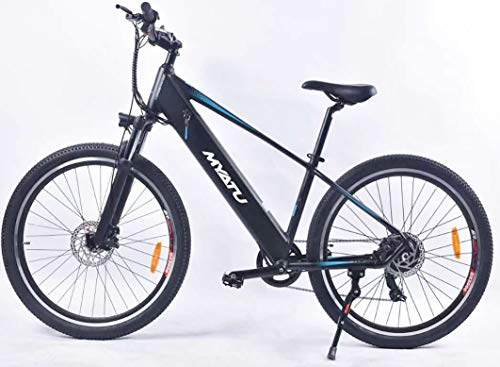 victagen Electric Bicycle, 27.5 inch E-bike with 36V 8Ah Lithium Battery Shimano 6-speed 250W Motor 30 km/helectric bikes for adults(gray)