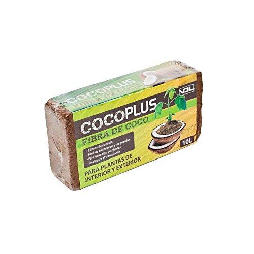 Sustrato / Bloque / Ladrillo de Fibra de coco deshidratado (650g-10L)