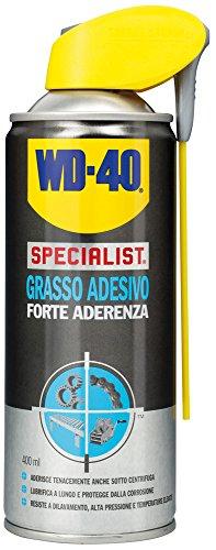WD-40 Specialist Grasso Adesivo Spray Forte Aderenza con Sistema Doppia Posizione, 400 ml