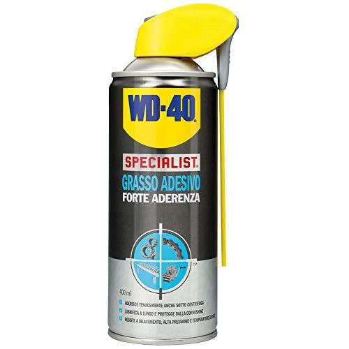 WD-40 Specialist - Grasso Adesivo Spray Forte Aderenza con Sistema Doppia Posizione - 400 ml