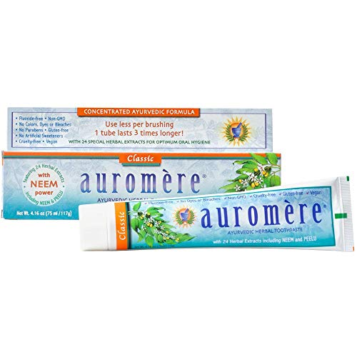 Auromere Ayurvedic Licorice Toothpaste, 4.16 Ounce