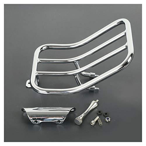 CHUDAN metalen bagagedrager, motorfiets achter bagage rek Sissy Bar Solo stoel bagage rack steun plank voor Harley Road King 1997-2008