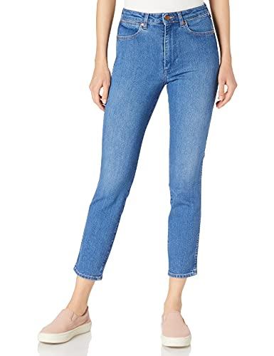 Wrangler Retro Skinny Jeans, Blu (Dance with Me 187), 27W x 34L Donna