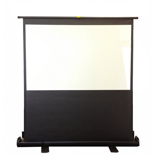 Antra Portable Floor Pull Up Projector Projection Screen Scissor Structure Matt White (92' 16:9)