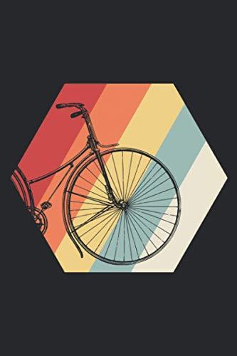Retro Bike: A5 Liniertes Notizbuch auf 120 Seiten - Fahrrad Notizheft | Geschenkidee für Rennrad und Mountainbike Fahrer, Radtouren, Radsport und Mannschaften