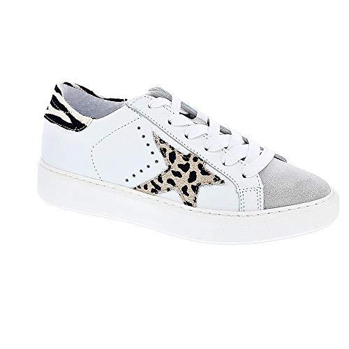 Alpe 424405V6 - Zapatillas Bajas Mujer Blanco Talla 39