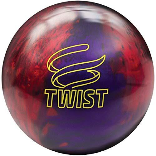 Brunswick Twist -Rot/Lila Reaktiv Bowling Ball für Einsteiger und Profis Größe 15 LBS