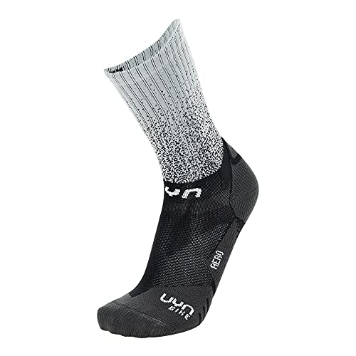 UYN Cycling Aero, Calcetines Hombre, Black/White, 42/44
