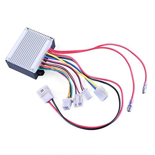 24V Control Module, 7 Connectors, 6 Pins Throttle, Fit for Razor Ground Force Go Kart(V13+), Drifter(V3+), Dune Buggy(V12+), Crazy Cart(V1-3), Model: HB2430-TYD6K-FS-ROHS, Part Number: W25143400015