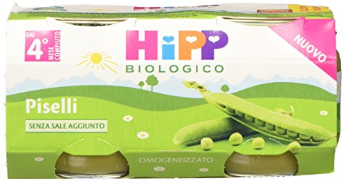 Hipp Omogeneizzato Piselli - 24 vasetti da 80 g