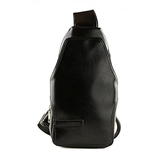 Sincere® messenger bag noir sac Messenger Loisirs / sports de plein air sac poitrine / Student Sac à dos / hommes