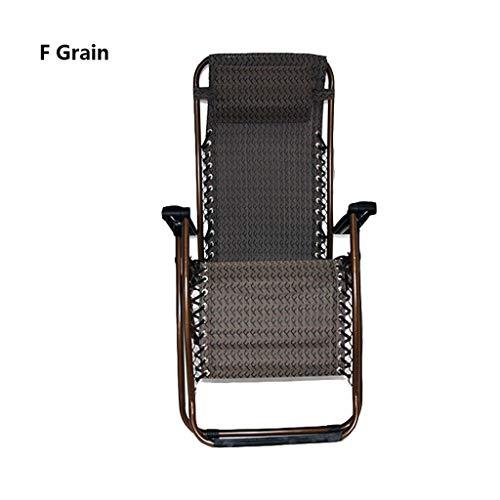 YSXFC ligstoelen opvouwbare lounge stoel rugleuning opklapbare stoel vrije tijd stoel armleuningen ademende en duurzame bureaustoel