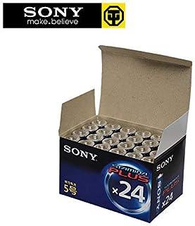 索尼SONY电池5号AA7号AAA碱性一次性电池儿童玩具电池(5号电池24节装)